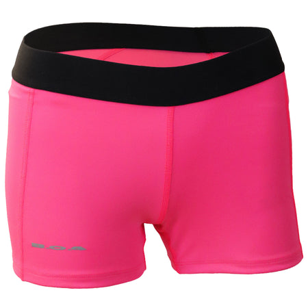Women's Black Rocket Fuel Fit Shorts With Pockets