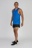 Men's Illusion Electric Blue Hypersoft Singlet