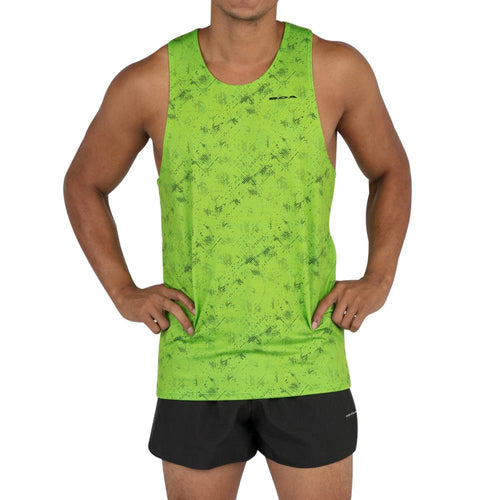 Men's Illusion Lime Hypersoft Singlet