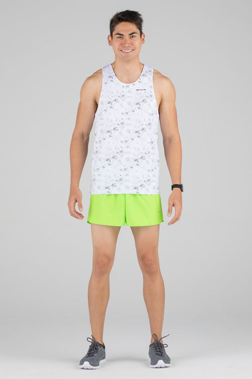 Men's Illusion White Hypersoft Singlet
