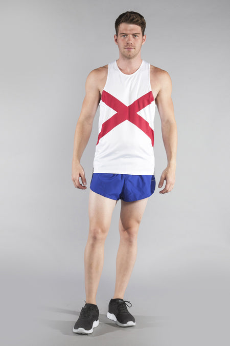 MEN'S PRINTED SINGLET- NORTH CAROLINA