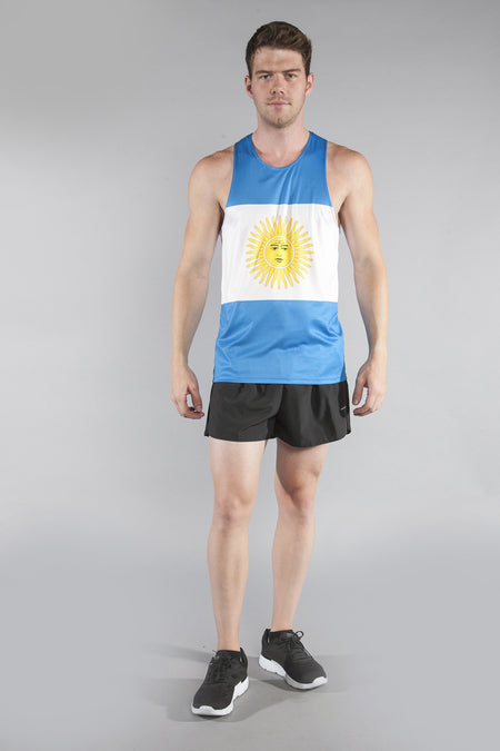 MEN'S PRINTED SINGLET- SWITZERLAND