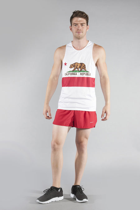 MEN'S PRINTED SINGLET- PENNSYLVANIA