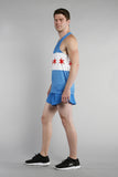 MEN'S PRINTED SINGLET- CHICAGO - BOAUSA