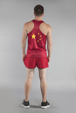 MEN'S PRINTED SINGLET- CHINA - BOAUSA