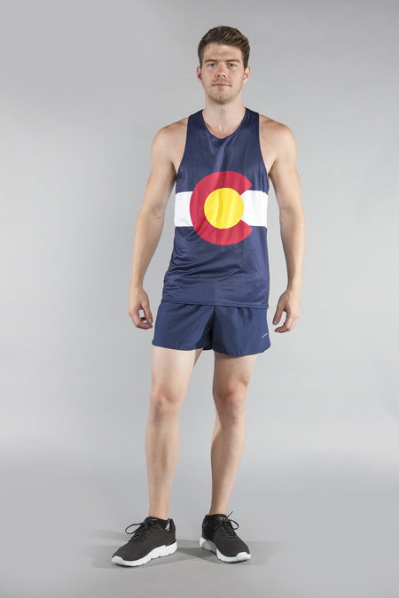 MEN'S PRINTED SINGLET- SOUTH DAKOTA