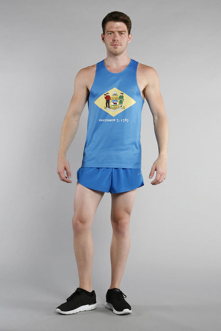 MEN'S PRINTED SINGLET- MICHIGAN