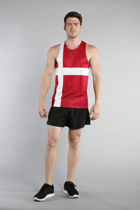 MEN'S PRINTED SINGLET- HUNGARY