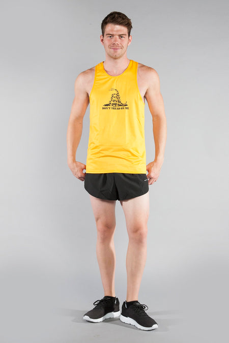 MEN'S VERSATEX ELITE RUNNING SINGLET- WHITE