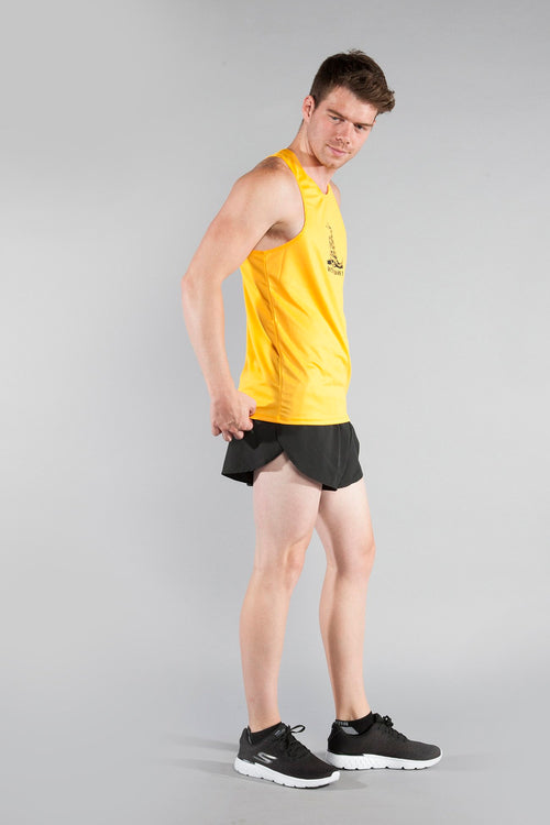 MEN'S PRINTED SINGLET- DON'T TREAD ON ME