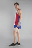 MEN'S PRINTED SINGLET- FRANCE - BOAUSA
