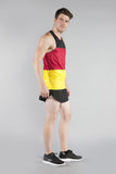 MEN'S PRINTED SINGLET- GERMANY - BOAUSA