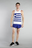 MEN'S PRINTED SINGLET- GREECE - BOAUSA