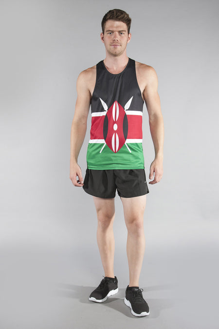 MEN'S PRINTED SINGLET- BULGARIA