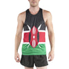 MEN'S PRINTED SINGLET- KENYA