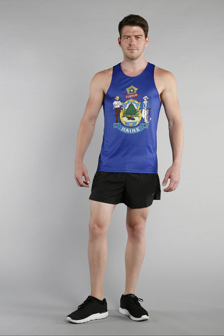 MEN'S PRINTED SINGLET- LOUISIANA