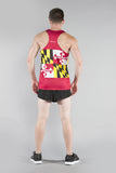 MEN'S PRINTED SINGLET- MARYLAND - BOAUSA