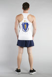 MEN'S PRINTED SINGLET- MASSACHUSETTS - BOAUSA
