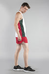 MEN'S PRINTED SINGLET- MEXICO - BOAUSA
