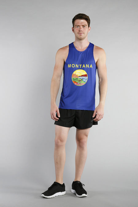 MEN'S PRINTED SINGLET- ALABAMA