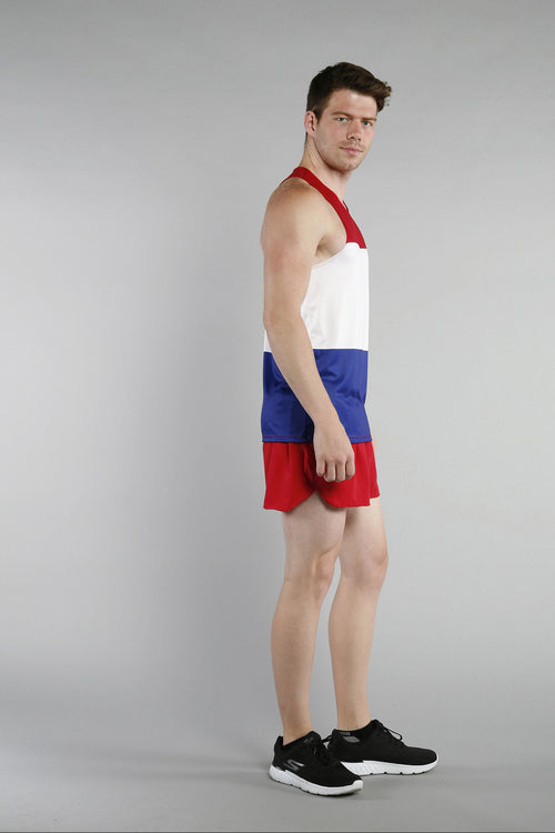 MEN'S PRINTED SINGLET- NETHERLANDS - BOAUSA
