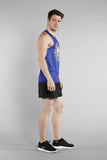 MEN'S PRINTED SINGLET- NEW HAMPSHIRE - BOAUSA