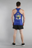 MEN'S PRINTED SINGLET- NEW YORK - BOAUSA