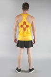 MEN'S PRINTED SINGLET- NEW MEXICO - BOAUSA