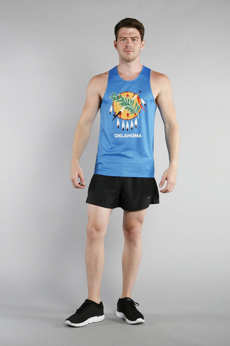 MEN'S PRINTED SINGLET- CALIFORNIA