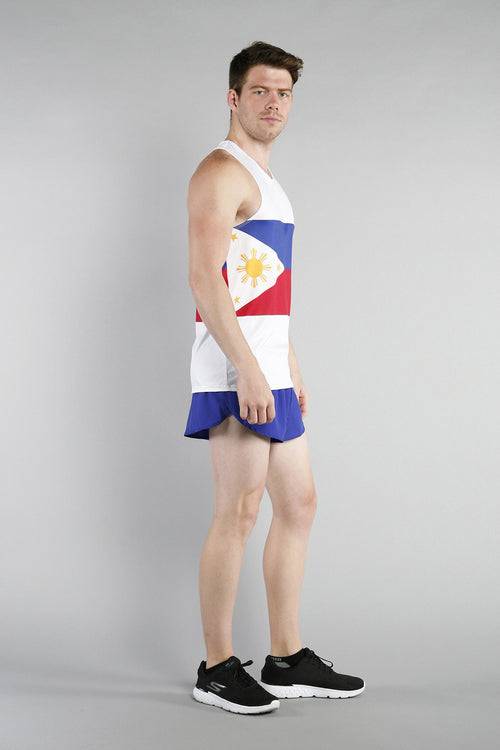 MEN'S PRINTED SINGLET- PHILIPPINES - BOAUSA