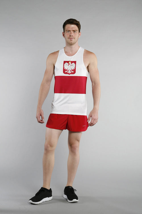 MEN'S PRINTED SINGLET- POLAND - BOAUSA