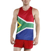 MEN'S PRINTED SINGLET- SOUTH AFRICA