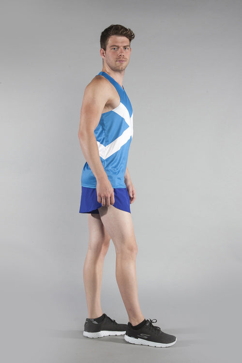 MEN'S PRINTED SINGLET- SCOTLAND - BOAUSA