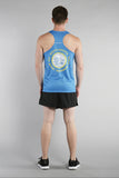 MEN'S PRINTED SINGLET- SOUTH DAKOTA - BOAUSA