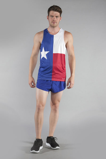 "MENS 1.5"" ULTRA BEEFY SPLIT- TEXAS FLAG"