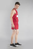 MEN'S PRINTED SINGLET- SWITZERLAND - BOAUSA