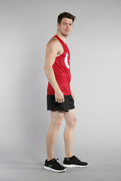 MEN'S PRINTED SINGLET- TURKEY - BOAUSA