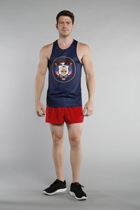 MEN'S PRINTED SINGLET- TENNESSEE