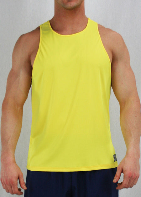 MEN'S DYNAMO SHORT- SAFFRON