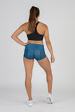 WOMEN'S BRIEF MIX & MATCH FUNDER UNDERWEAR- CURRENT BLUE/BLACK
