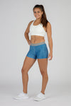 WOMEN'S LONG MIX & MATCH FUNDER UNDERWEAR- CURRENT BLUE/WHITE