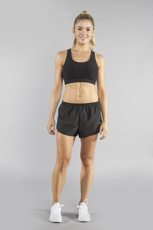 WOMEN'S PERFORMANCE BRA- BLACK - BOAUSA