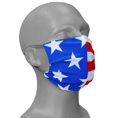 PRINTED PERFORMASK FACE MASK- AMERICAN FLAG