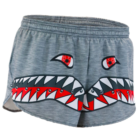 "Men's Dolphin Red 1"" Elite Split Short"