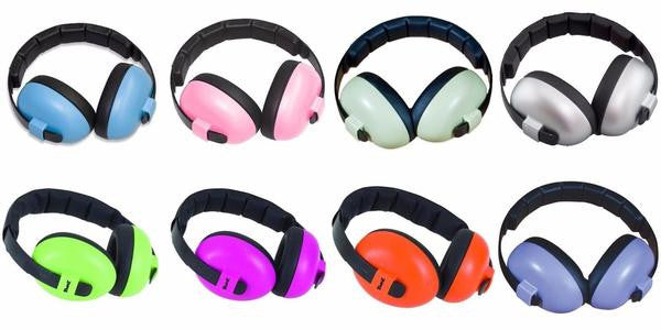 Banz Baby Earmuffs Kids Ear Muffs Hearing Protection for 3 mths to 2 Years Banz