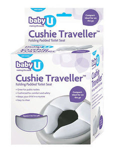 BabyU Cushie Traveller Folding Padded Portable Toilet Seat Training Seat Baby U
