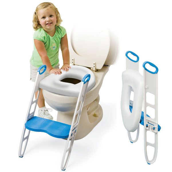 BabyU Cushie Step Up Toilet Seat with Step Stool Toddler Toilet Training Baby U