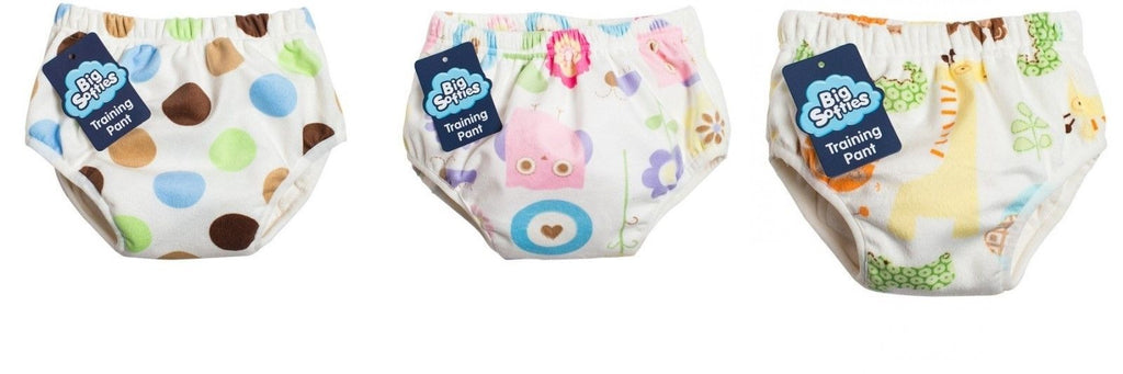 Big Softies Minky Training Pant Toddler Toilet Training Pants 3 Styles 3 Sizes
