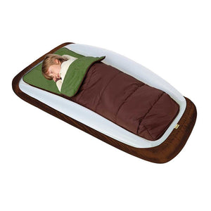 The Shrunks Outdoor Toddler Travel Bed Portable Bed Air Mattress Sleeping Bag