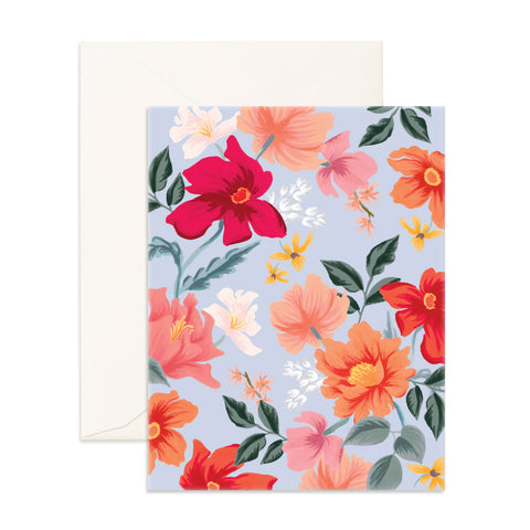 Bilberry Blank Greeting Card - Min. of 6 per style